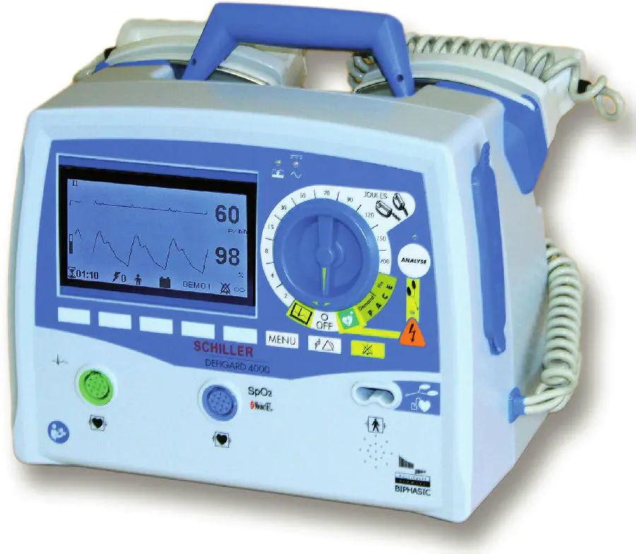 瑞士席勒DG4000型除颤监护仪