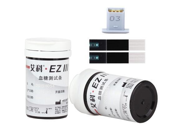 杭州艾科·EZⅢ筒装血糖测试条
