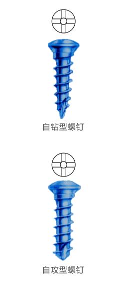 金属接骨螺钉