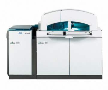 全自动生化、发光流水线系统  Cobas6000